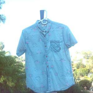 BOYS BILLABONG button front shirt